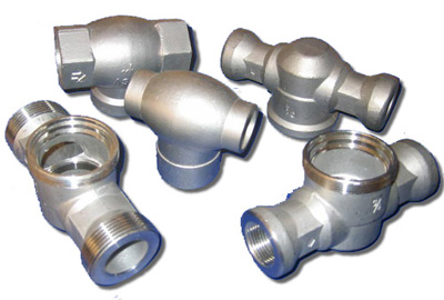 stainless steel pipeline fittings